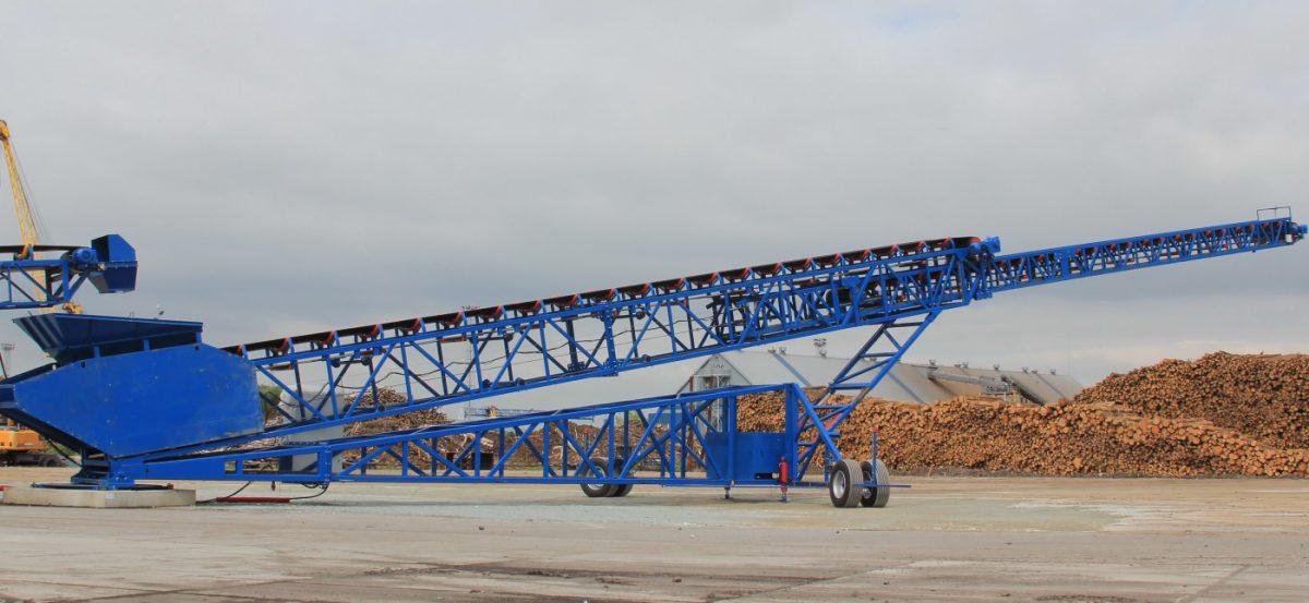 RIMO Telescopic Stockpiling Conveyor