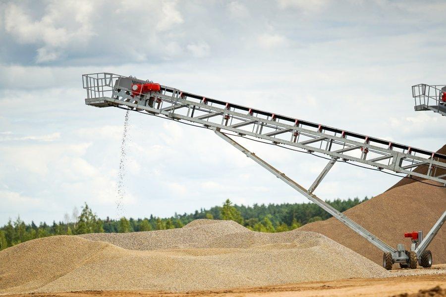 Telescopic Stockpiling Conveyor