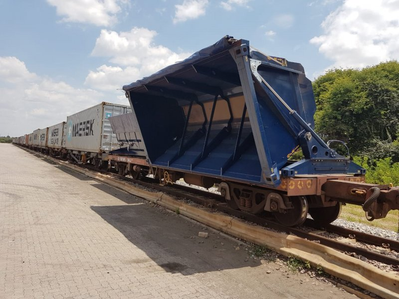 SCA Intermodal Tipper Bin